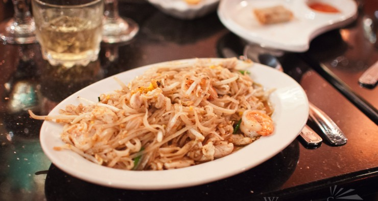 Pad Thai from Racha Thai in Worcester