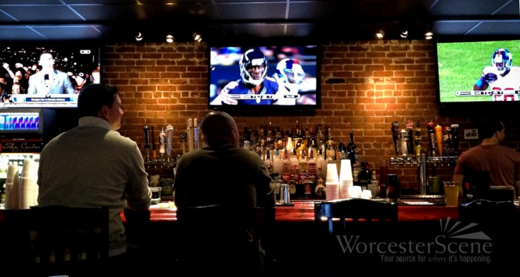 NFL's Sunday Ticket being enjoyed at Center Bar & Grill