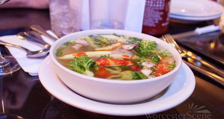 Phở Rau Cải from Pho Dakao on Park Avenue in Worcester, MA