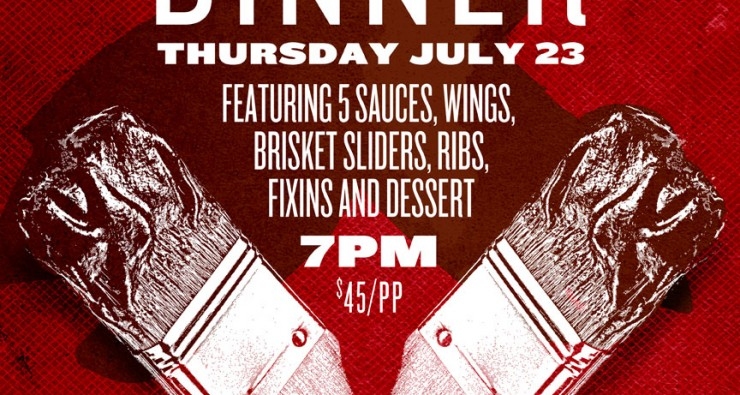 BBQ, BOURBON AND BEER DINNER