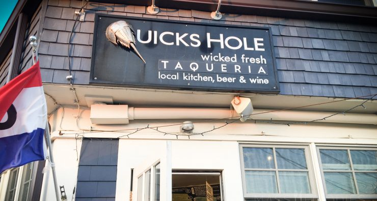 Quick's Hole Taqueria in Woods Hole on Cape Cod